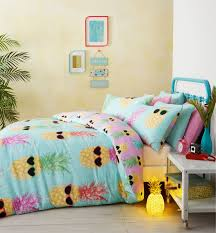 Beach Theme Quilt Bedding Modern Pottery Barn Teen Bedding Teenage Funky Pineapple