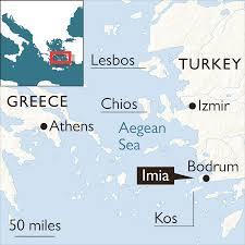 Greek Islands Map Turkey Challenges Greek Claim To Aegean Islands World The
