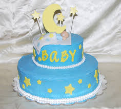 creative cakes by rochelle moon u0026 stars baby shower cake