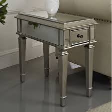Powell Black Glass Top Side Best 25 Mirrored End Table Ideas On Gold End Table