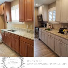 steps to paint oak kitchen cabinets the easy way to refinish cabinets howard at home