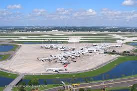 Map Orlando Airport by Orlando International Airport Orlando Airport Information
