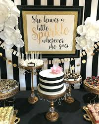 50th birthday party themes black and white birthday party guest post thrilled theme party for