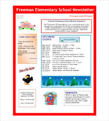 newsletter template 9 word pdf psd documents download
