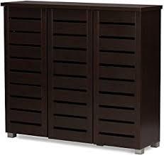 Shoe Cabinet Amazon Amazon Com Wholesale Interiors Baxton Studio Adalwin Modern And