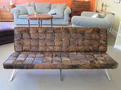 Barcelona Style Sofa Rattan Bench With A Cushion Furniture Pinterest Rattan