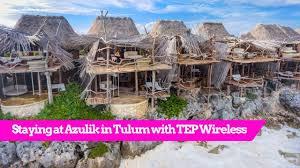 world u0027s best treehouse hotel azulik in tulum mexico youtube