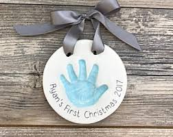 handprint ornament etsy
