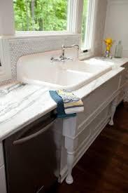 vintage cast iron sink drainboard vintage cast iron sink antique kitchen sink 1920 s enameled cast