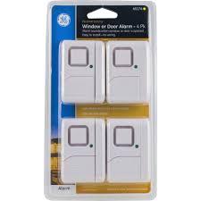 Interior Door Alarms Ge Personal Security Window Door Alarm 4 Pack Walmart