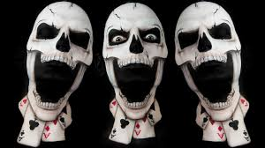 Halloween Skeleton Faces by House Of Cards Skull Face Paint Tutorial Youtube