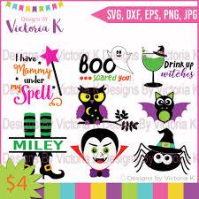 Halloween Owls Mini Halloween Bundle Witches Spiders Design Bundles