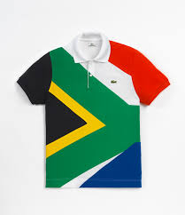What Colour Is The South African Flag The 16 Nations Lacoste Goes Flagtastic Clothes Make The Man