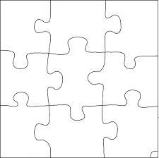 puzzle piece patterns patterns kid