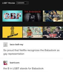 Lgbt Meme - the babadook is an lgbt symbol best funniest memes heavy com