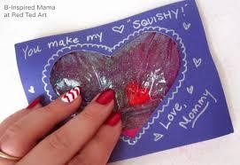 Make Valentines Card - valentine u0027s cards squishy hearts red ted art u0027s blog