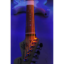 light electric guitar strings dr k3 hi def neon orange luminescent electric guitar strings light