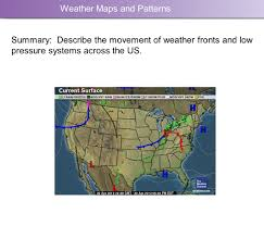 Usa Weather Map Weather Maps And Patterns Moving Air Creates A Low Pressure System
