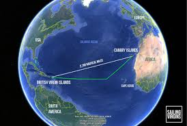 how long would it take to travel 40 light years how long does it take to sail from the canary islands to the bvi
