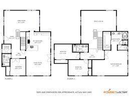 2d schematic floorplan portolfio rocket lister