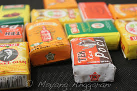 Teh Mayang tea vintage packaging this is the single flickr