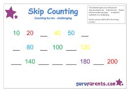 skip counting guruparents
