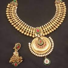 gold jewelry designs necklace images Gold jewellery designer gold necklace manufacturer from ahmedabad jpg