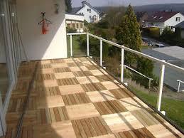balkon dielen 5m holzfliesen lärche 50x50cm fliese holz terrassenfliesen balkon