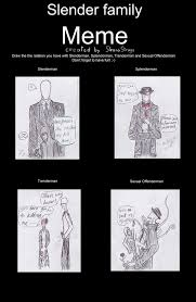 Slender Meme - the slender family by from time on deviantart