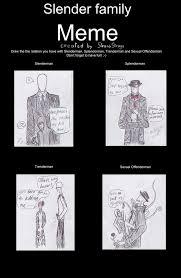 Slender Meme - the slender family by from time on deviantart