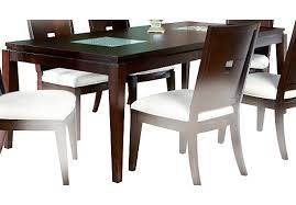 espresso rectangular dining table dining tables dining rooms page 1