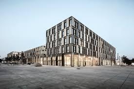 architektur bielefeld neubau auf dem cus der fachhochschule bielefeld