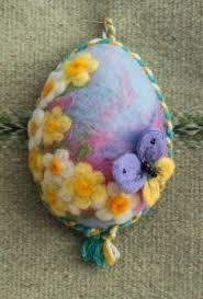 felt easter eggs felt beaded egg ornament etsy diy easter
