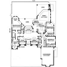 mediterranean style house plan 3 beds 3 50 baths 4000 sq ft plan