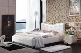 Popular Modern Leather Bedroom SetsBuy Cheap Modern Leather - White leather contemporary bedroom furniture