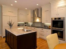 Shaker Kitchen Cabinets Pictures Ideas  Tips From HGTV HGTV - Shaker white kitchen cabinets