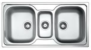Triple Bowl Kitchen Sink Black Triple Basin Triple Bowl Stainless - Stainless steel kitchen sinks australia