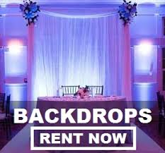 wedding backdrop rentals nationwide wedding and event rentals with free shipping both ways