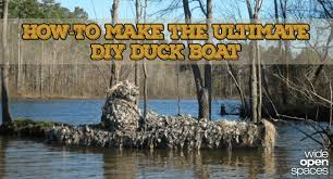 Pvc Duck Boat Blind Beat Boredom With This Diy Duck Boat Blind Project
