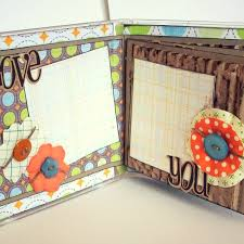 scrapbook albums make a cd mini album scraplifters