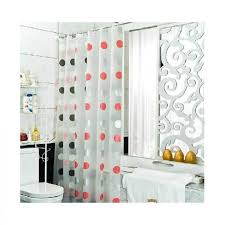 Bathroom Hardware Ideas Elegant Clear Shower Curtain Polka Dot Concept Of Wonderful Ideas