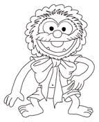 piggy muppets coloring free printable