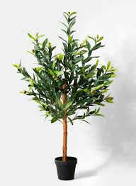 36in olive tree in pot artificial tree