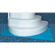 wedding cake pool steps 45 x 60 deluxe step ladder pad blue na402 inyopools