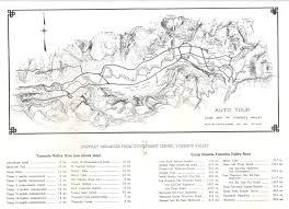 Yosemite Park Map 13 Best Historical Maps Of Yosemite Images On Pinterest National