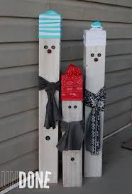 undone fence post snowmen practicing pinterest
