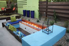 centered conversation social pit sunken sitting areas to fit your