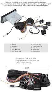 amazon com eonon a0577 extended installation wiring harness for