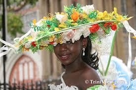 easter bonnet triniview port of spain pos corporation easter bonnet parade