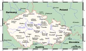 map of germany and surrounding countries with cities geography american friends of the republic